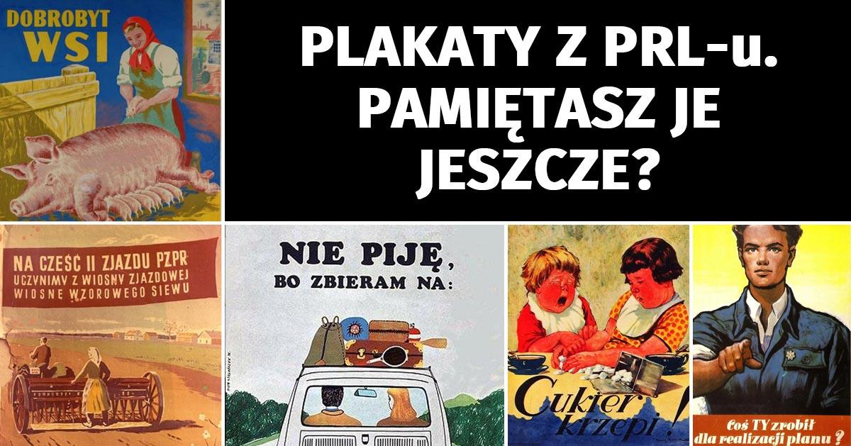 10 plakatów z epoki PRL-u. Czy je pamiętasz? :)