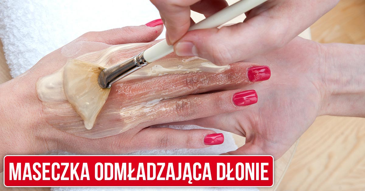 Ta jedna maseczka pomoże Ci odmłodzić dłonie