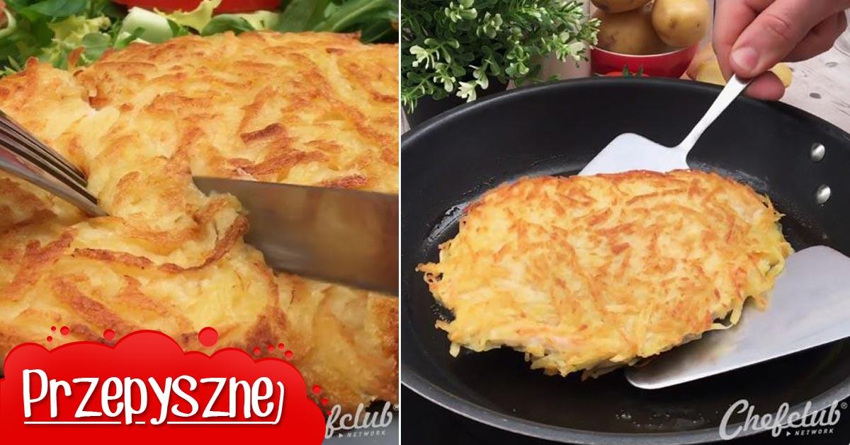 Przepis na piersi z kurczaka nadziewane serem pleśniowym w panierce z tartych ziemniaków