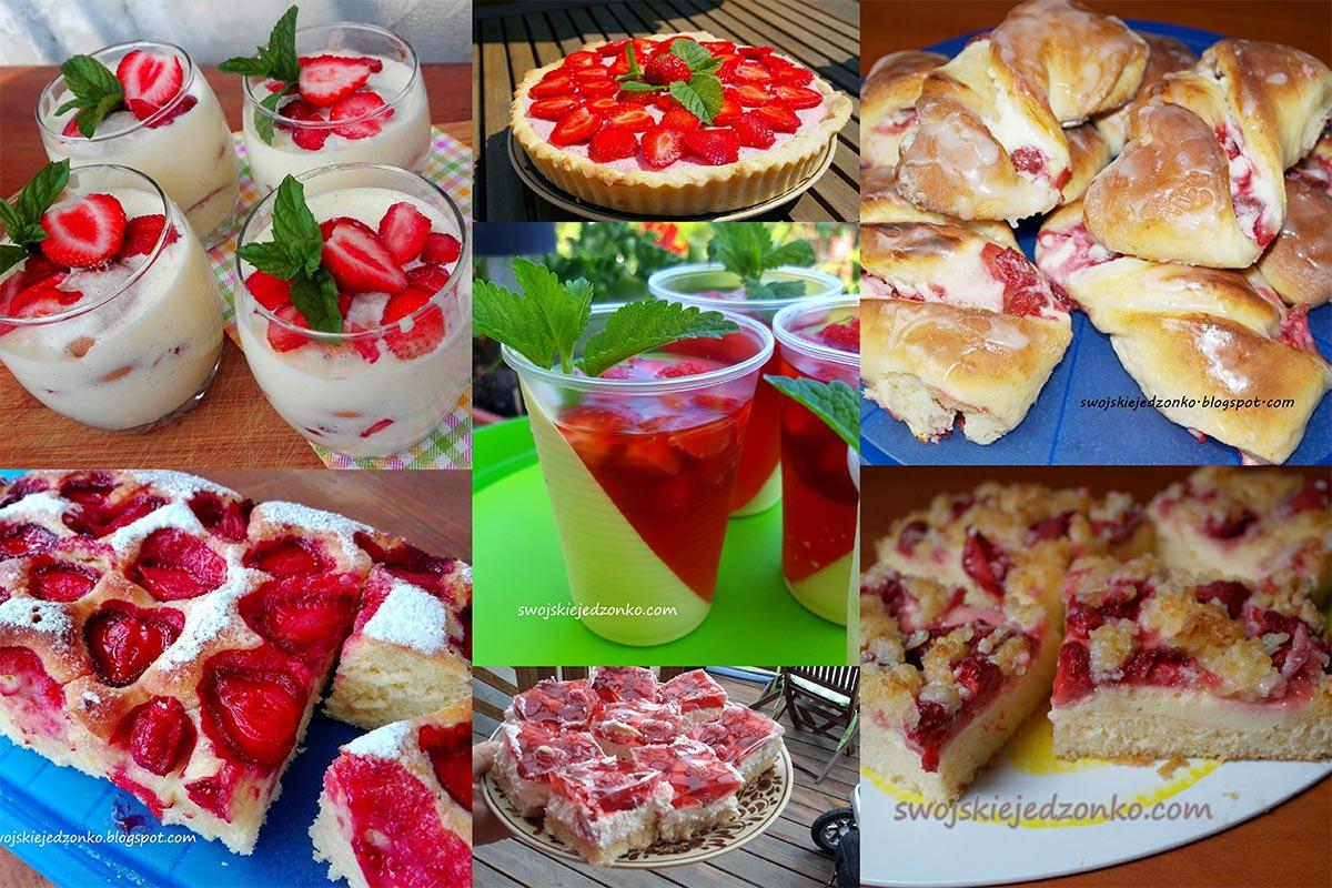 Ciasta i desery z truskawkami