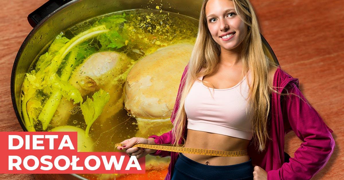 Zobacz jak stracić kilogramy na 7 dniowej diecie rosołowej