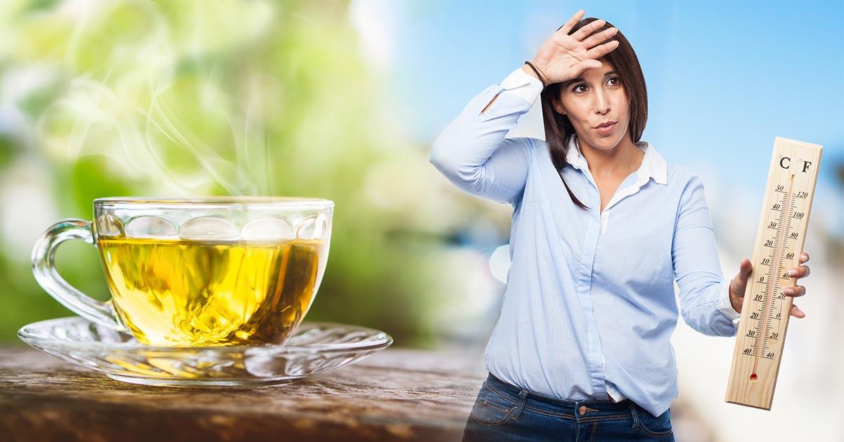 Podczas upałów sięgnij po gorącą herbatę. Brzmi niedorzecznie? A jednak! :)