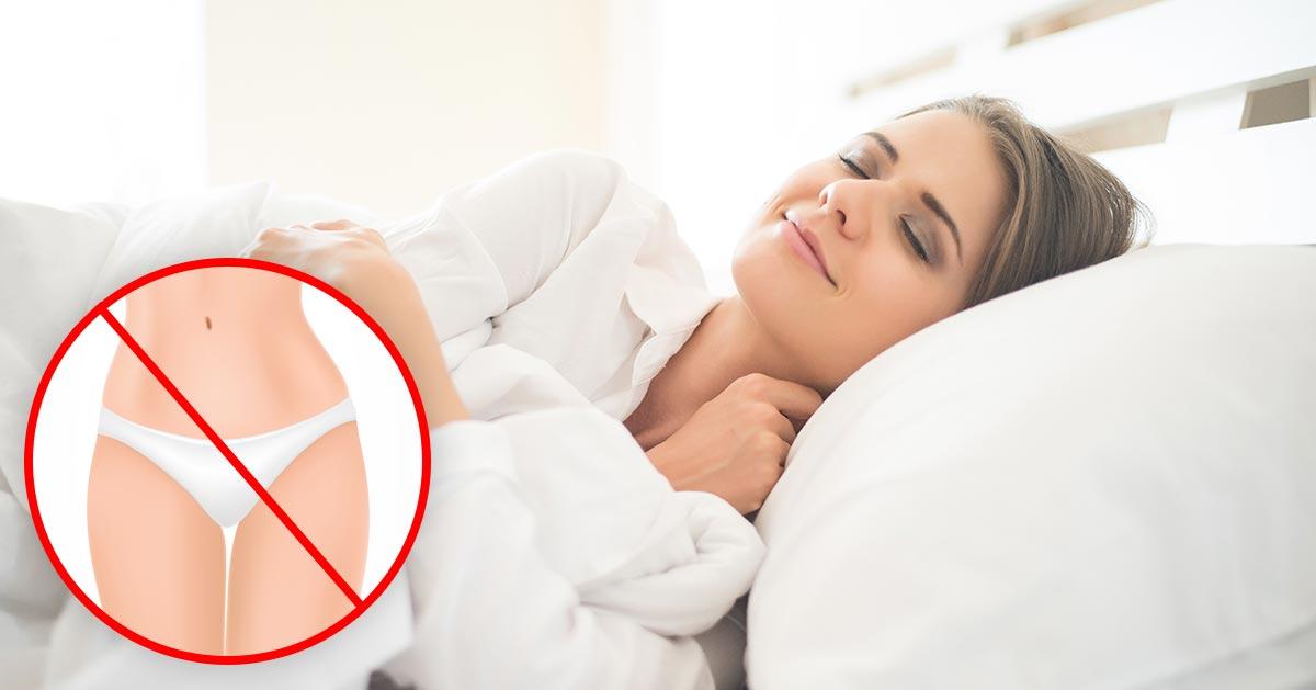 Zobacz dlaczego lepiej spać bez majtek