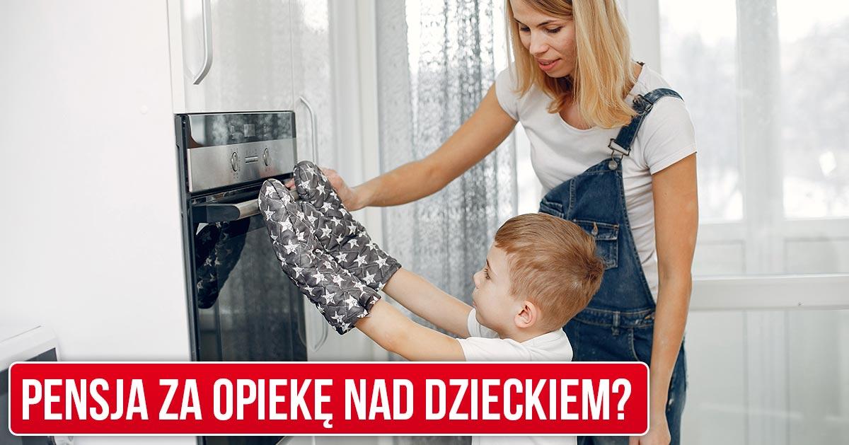 Uważa, że mąż powinien jej płacić pensję za opiekę nad dzieckiem i zajmowanie się domem. Zgadza się z nią?