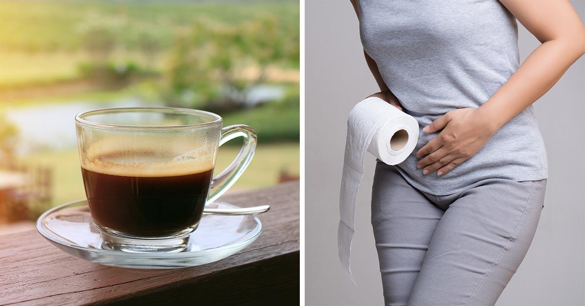 Czy po porannej kawie chce Ci się od razu do toalety?