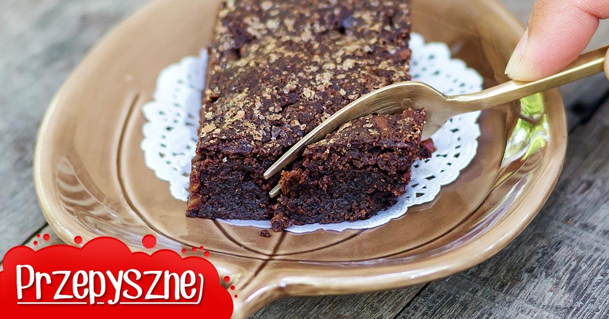 Przepis na brownie z fasoli