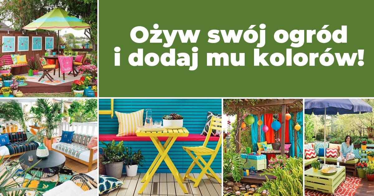 Kolorowe ogrody – zainspiruj się!