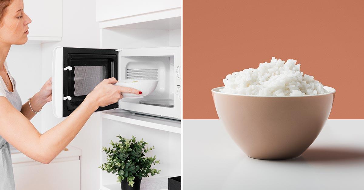 Jak przygotować ryż w mikrofalówce