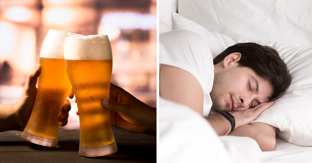 Czy piwo pomaga w zaśnięciu?