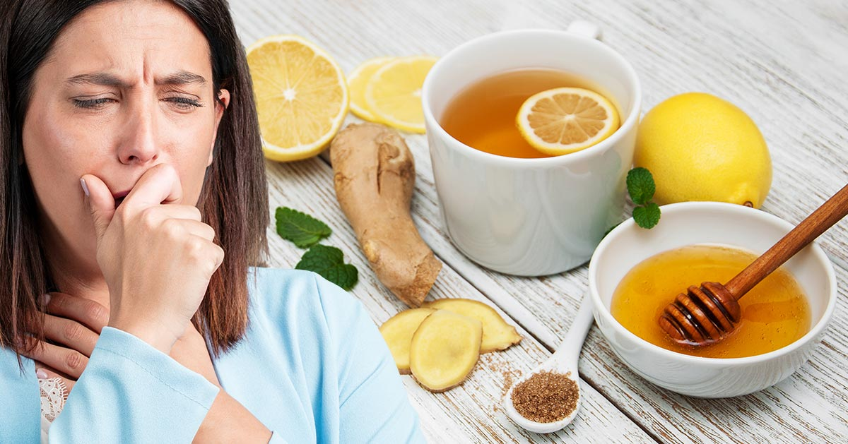 Przepis na herbatę imbirową na przeziębienie