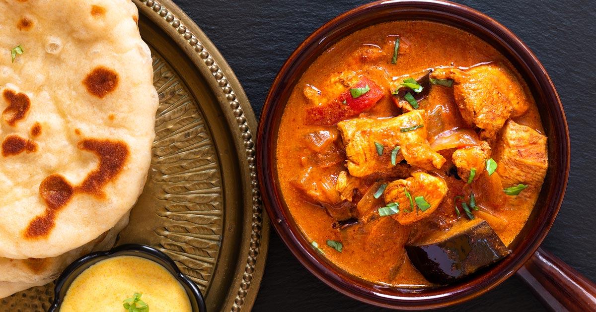 Przepis na kurczaka w sosie curry