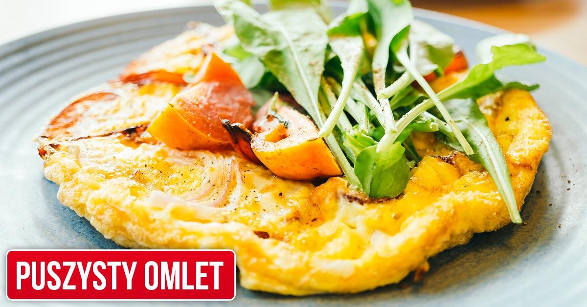 Jak przygotować puszysty omlet?