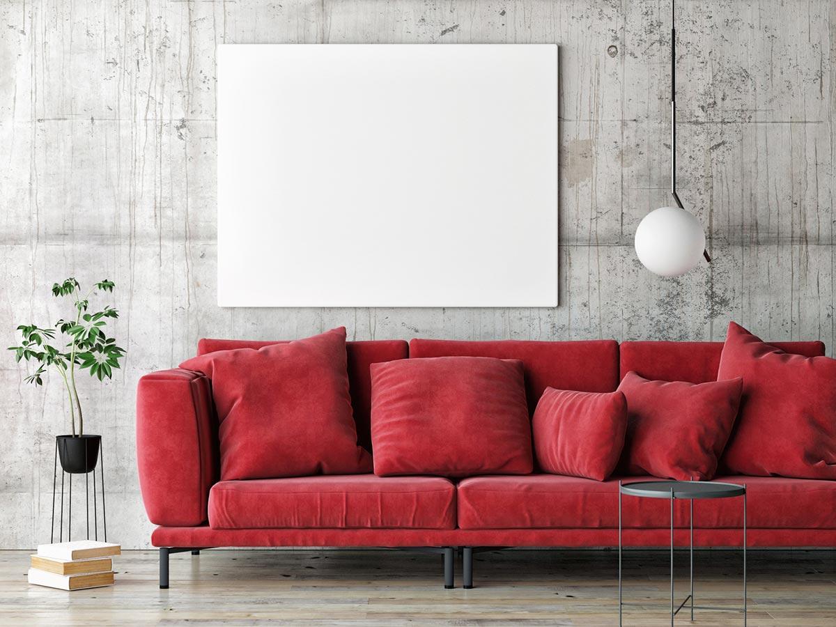 Kanapa w czerwonym kolorze – akcent w Twoim salonie