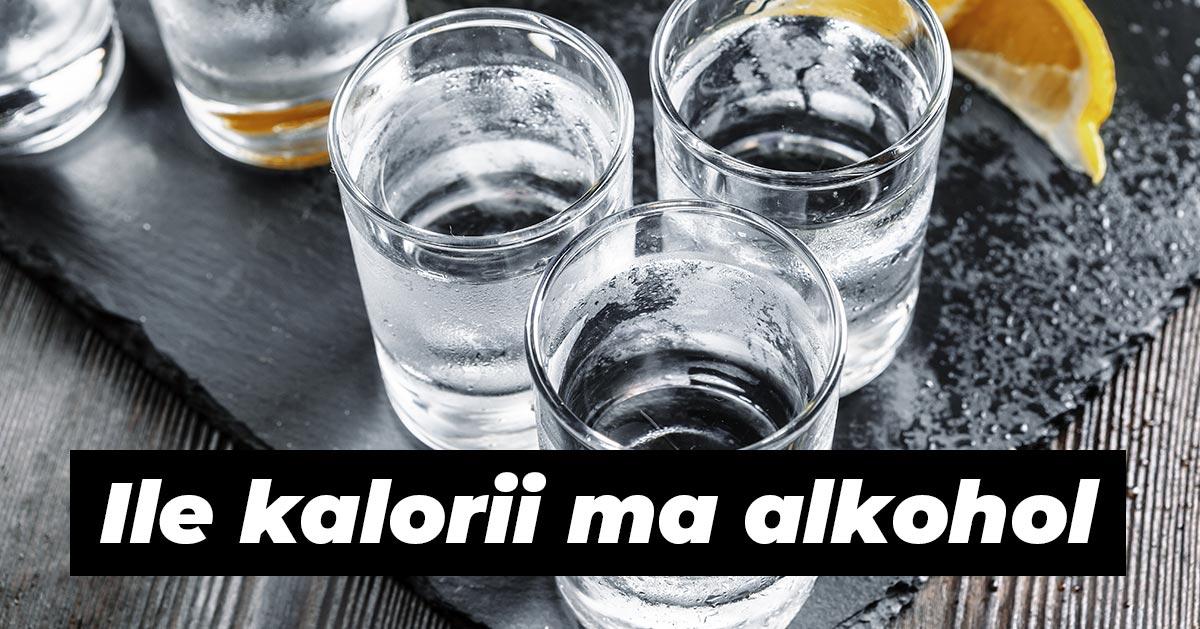 Ile kalorii mają popularne alkohole?