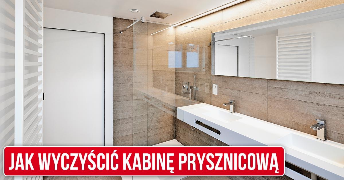 Jak wyczyścić kabinę prysznicową