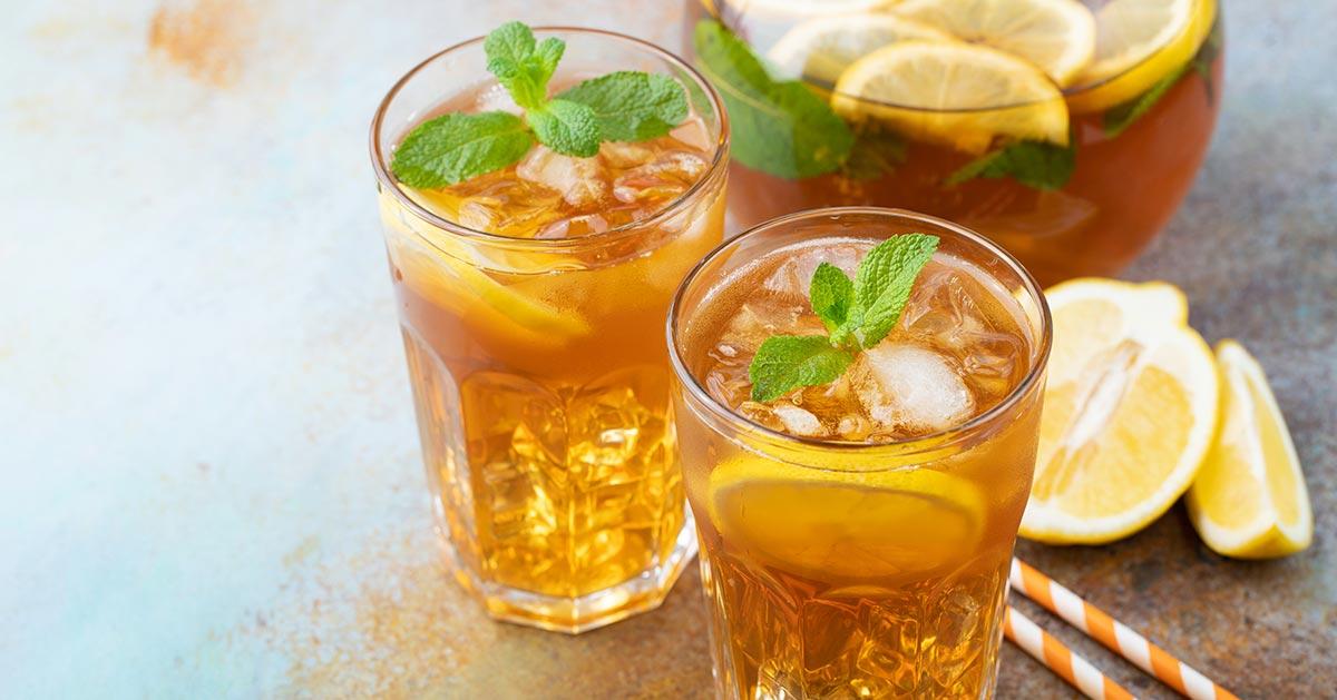 Jak zrobić mrożoną herbatę – ICE TEA