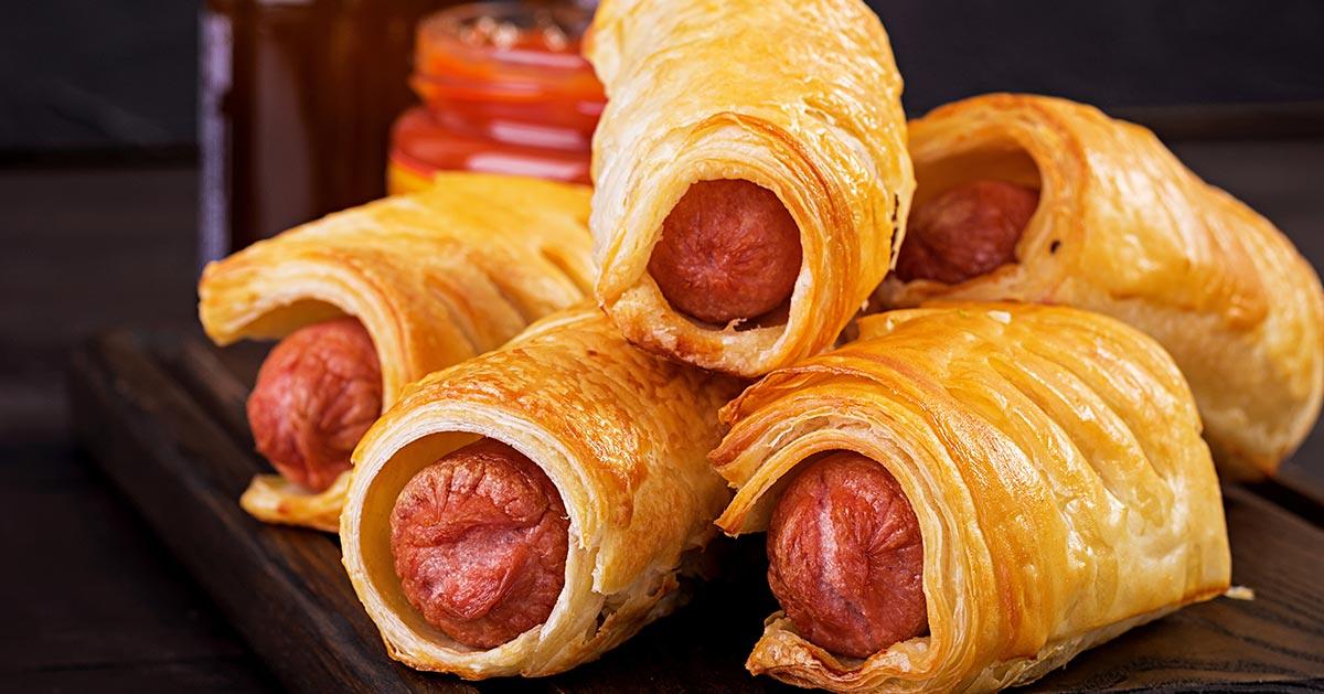 Przepis na hot dogi w cieście francuskim