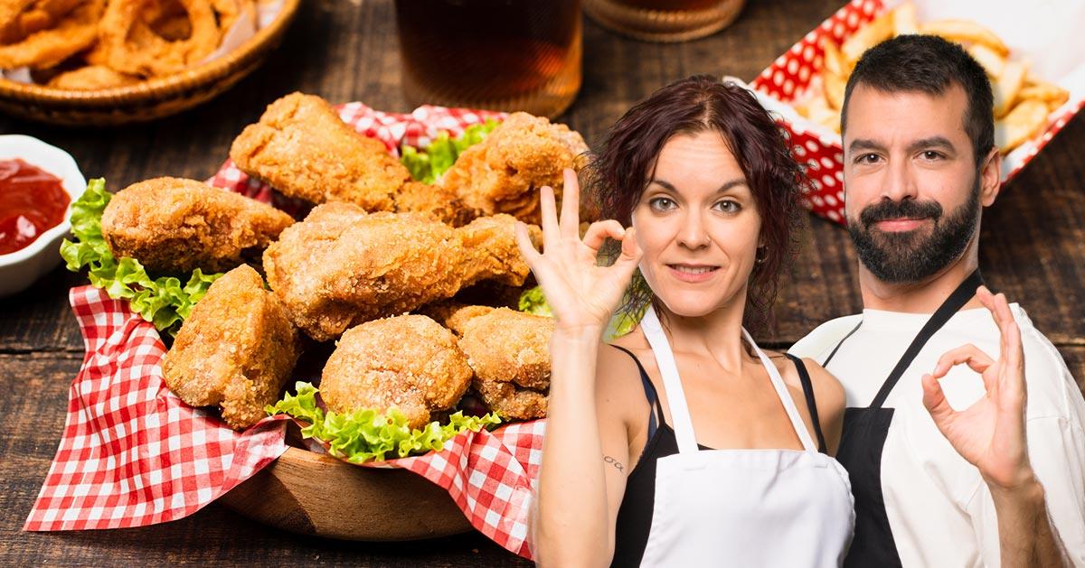 Przepis na skrzydełka kurczaka jak z KFC