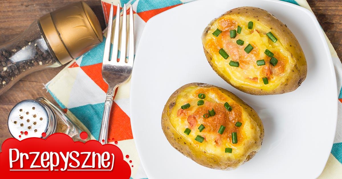 Ziemniaki faszerowane serem
