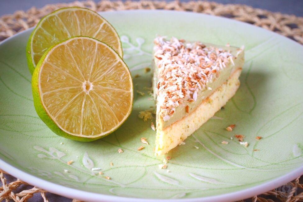 Keto ciasto limonkowe (Paleo, LowCarb)