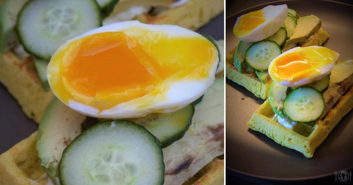 Keto gofry śniadaniowe (Paleo, LowCarb)