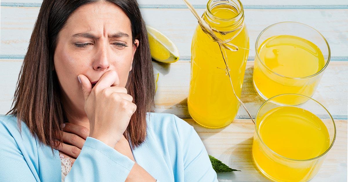 Domowy syrop wzmacniający odporność i zwalczający przeziębienie