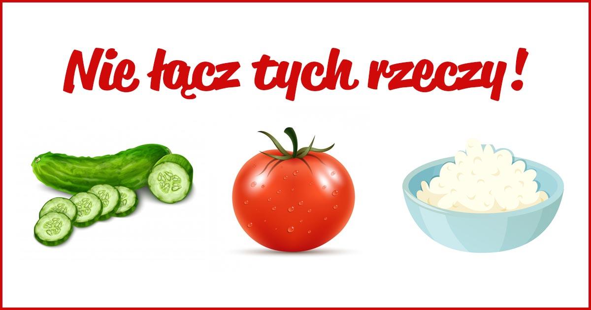 Lubisz twaróg z pomidorkiem i ogórkiem? To złe połączenie!