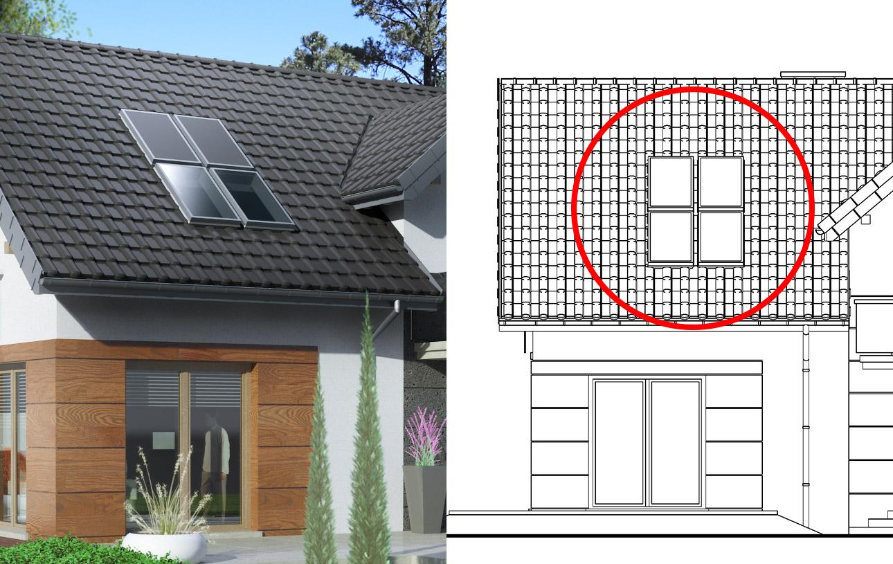 rys. instalacji solarnej