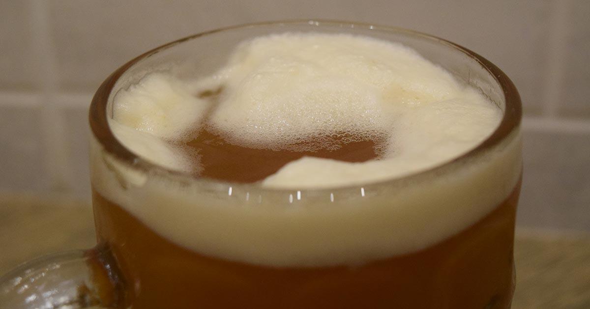 Grzane piwo z miodem
