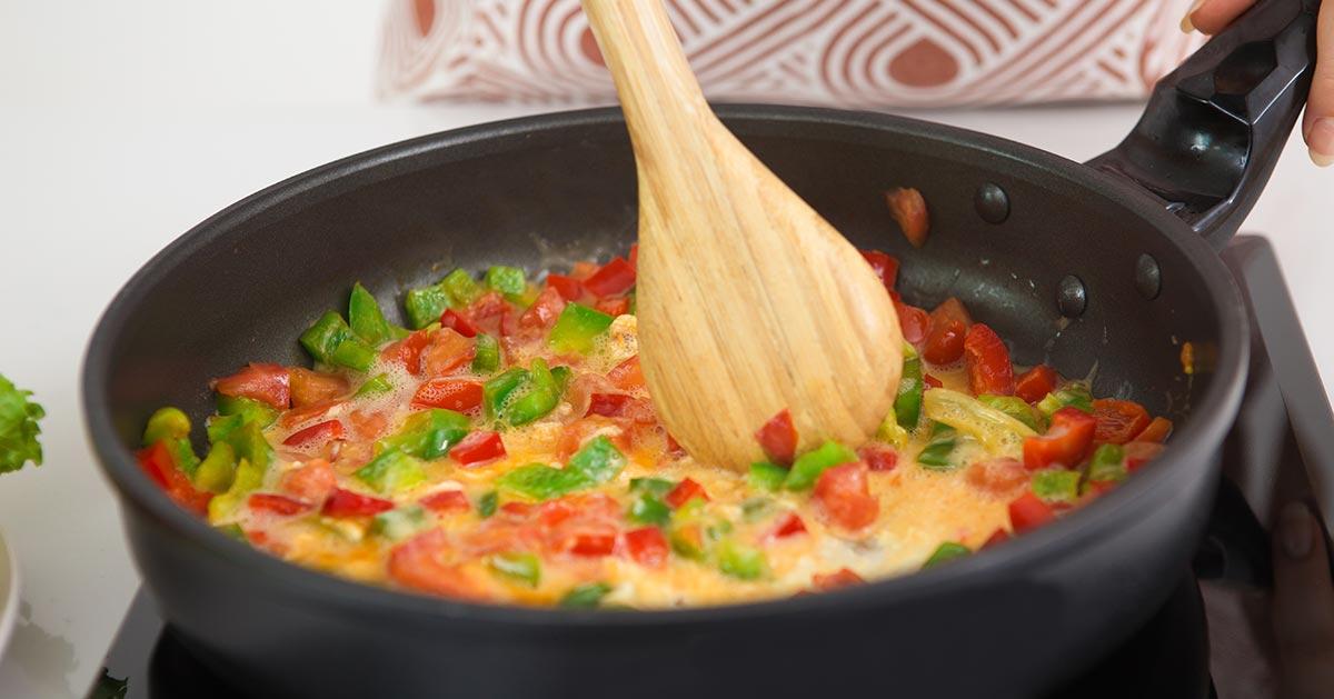 Omlet podkręcający metabolizm