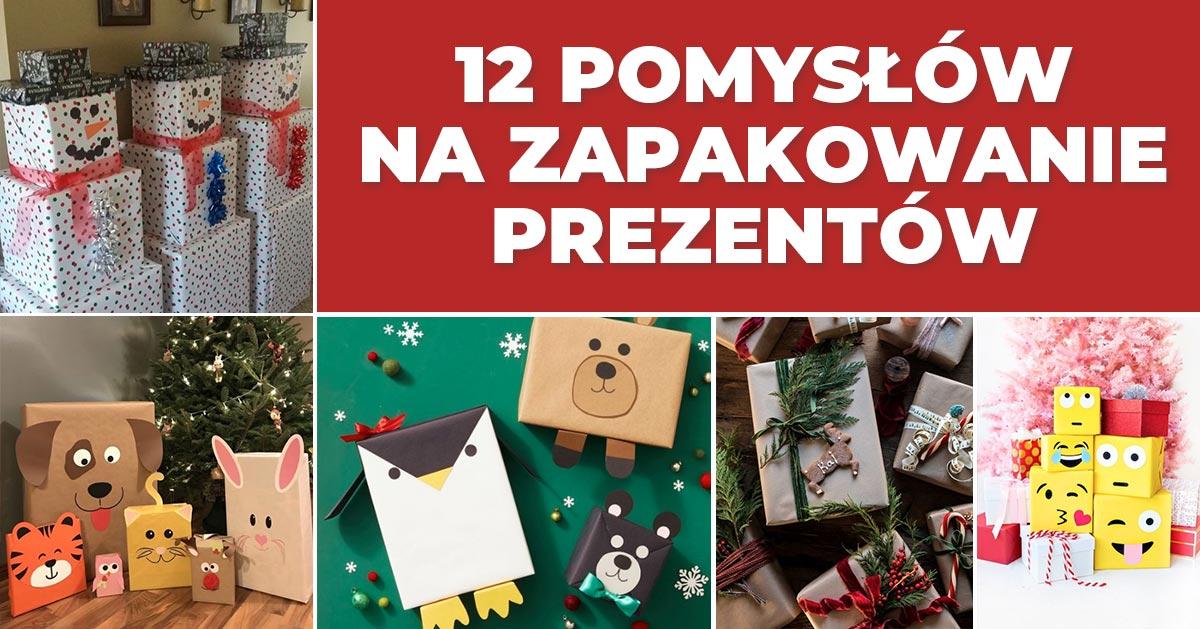 12 pomysłów na zapakowanie prezentów na Boże Narodzenie