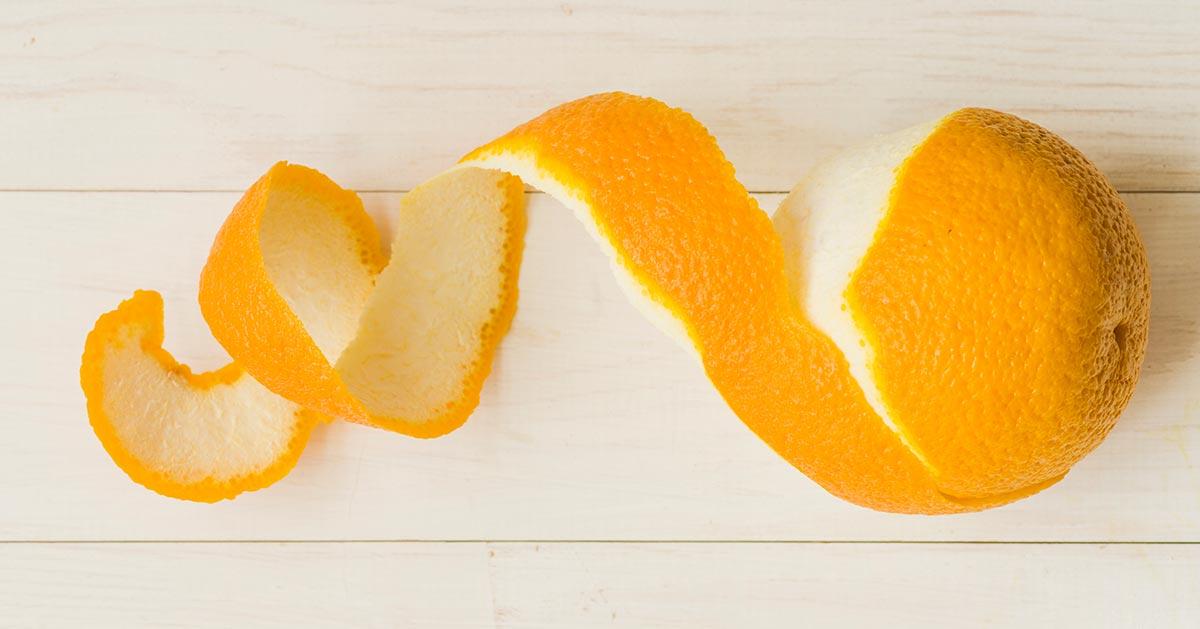 Jak wykorzystać skórkę od pomarańczy?