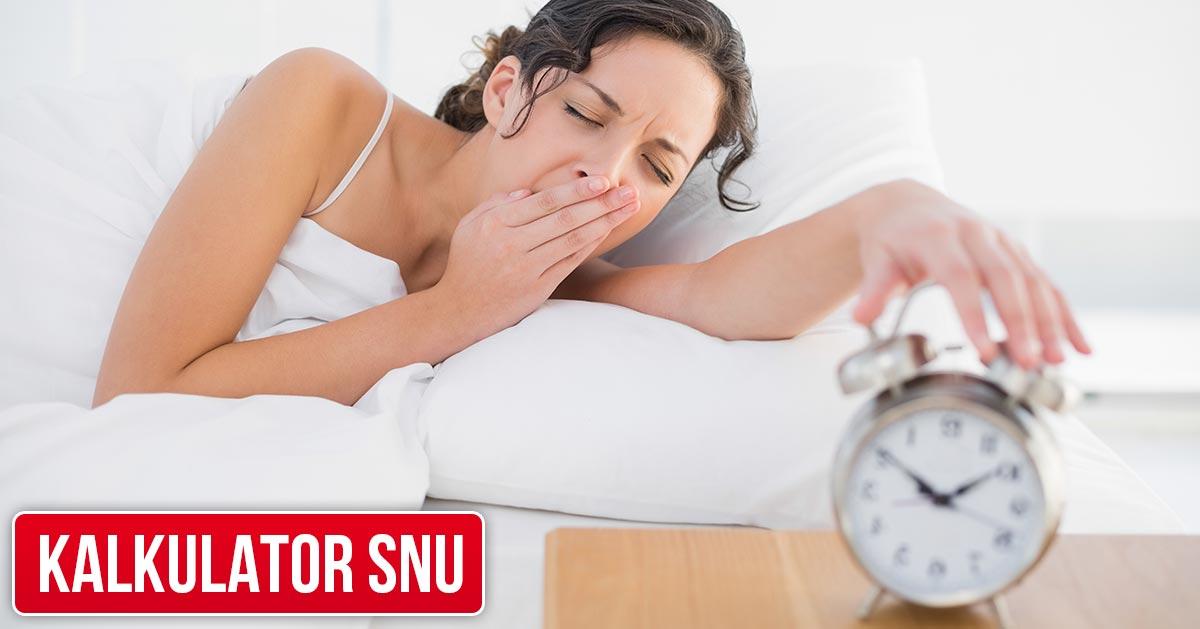 Kalkulator snu – ile powinno się spać?