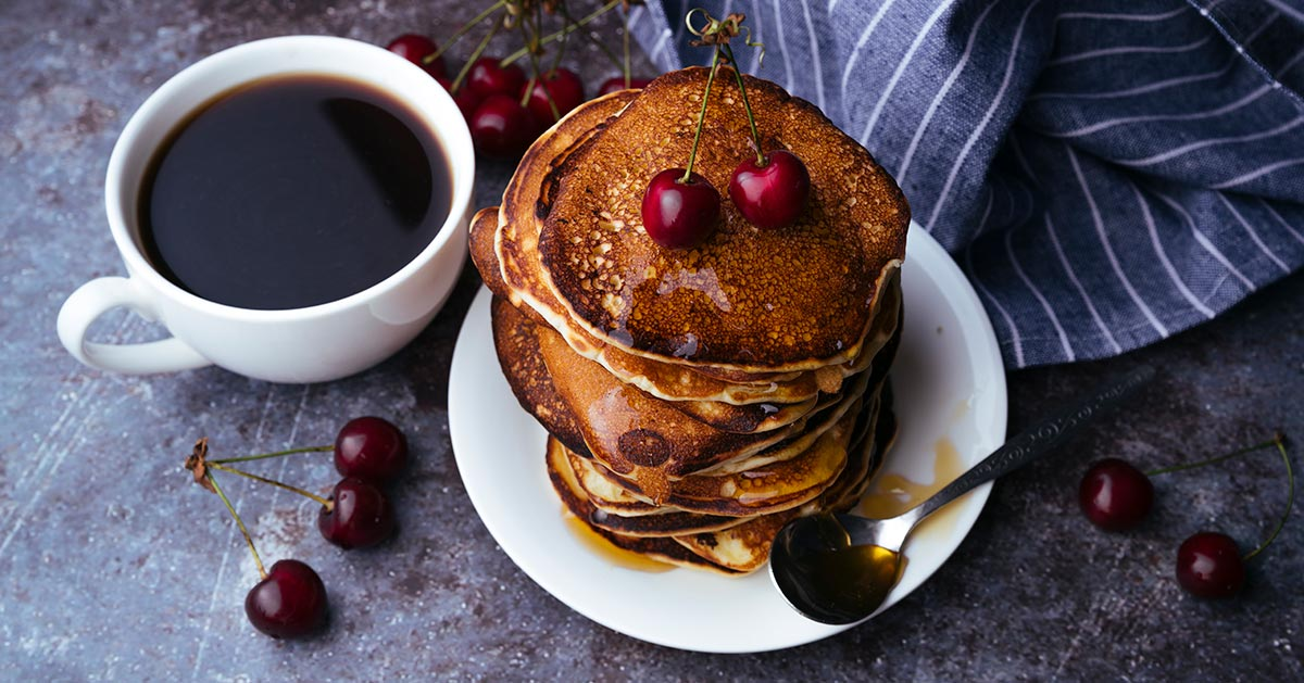 Pancakes z 3 SKŁADNIKÓW