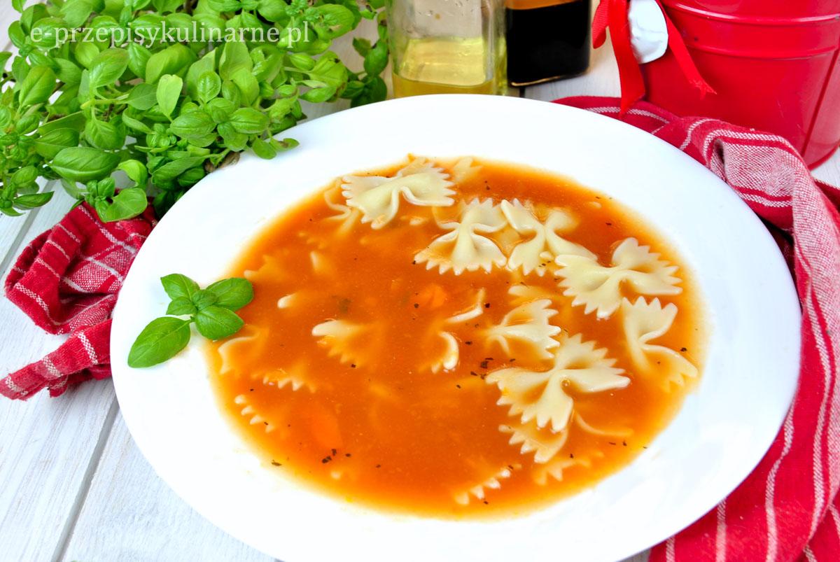 Zupa Pomidorowa – Prosty Przepis Na Pomidorówkę