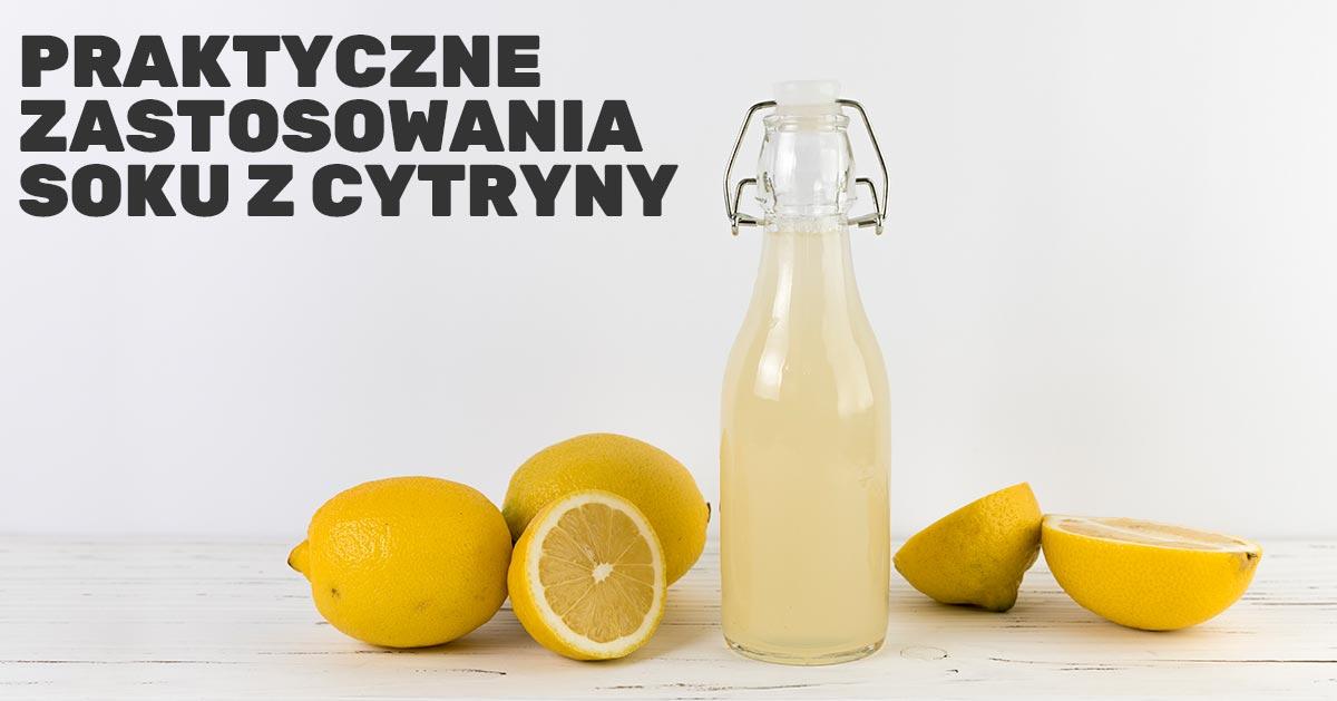 Jak wykorzystać sok z cytryny