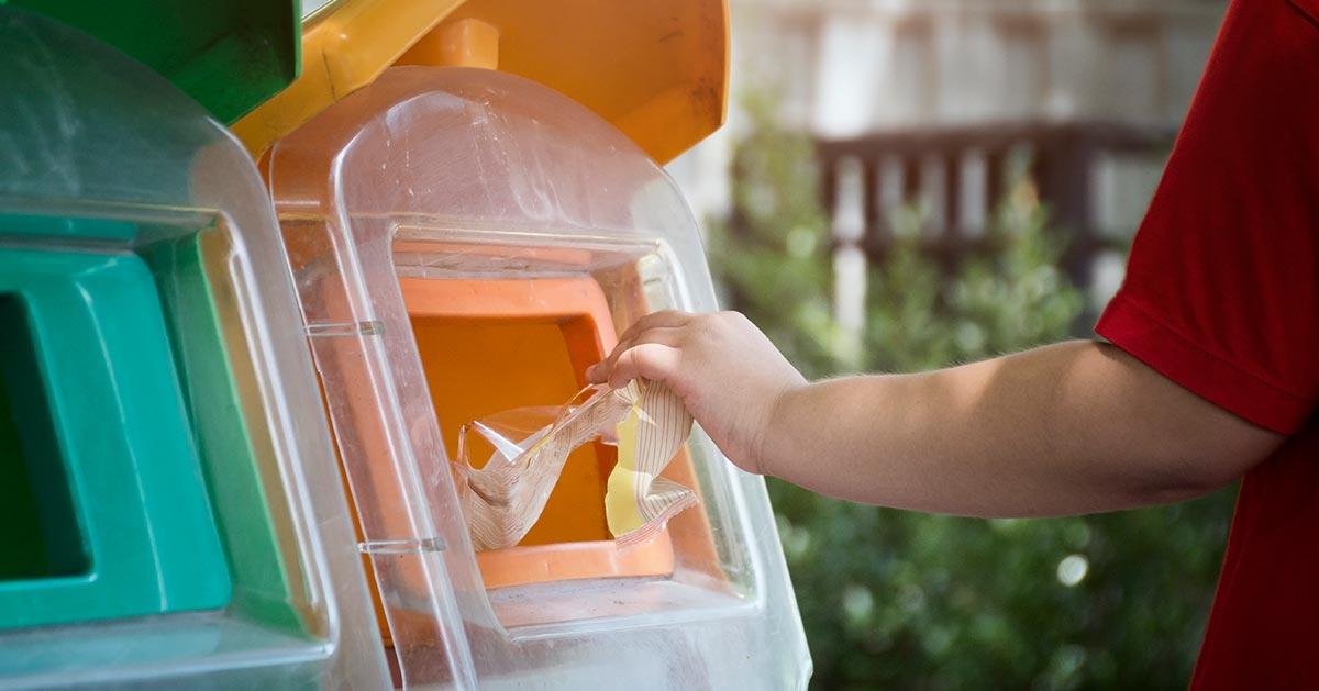 Do czego służy żółty pojemnik na odpady?