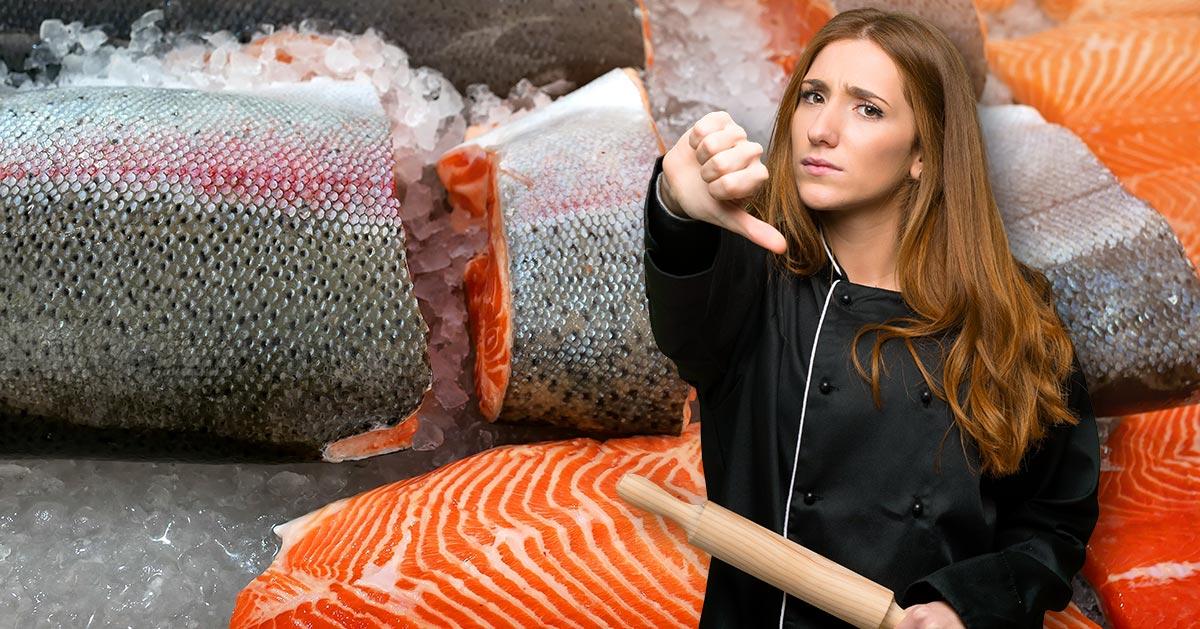 Nie kupuj łososia atlantyckiego!