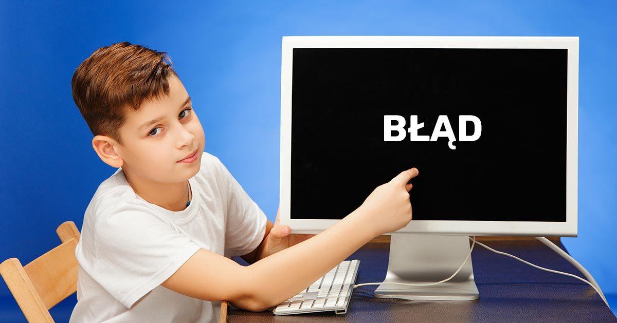 Lekcje online to ciągłe problemy i awarie