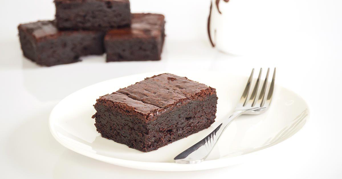 Kryzysowe ciasto czekoladowe z 2 SKŁADNIKÓW