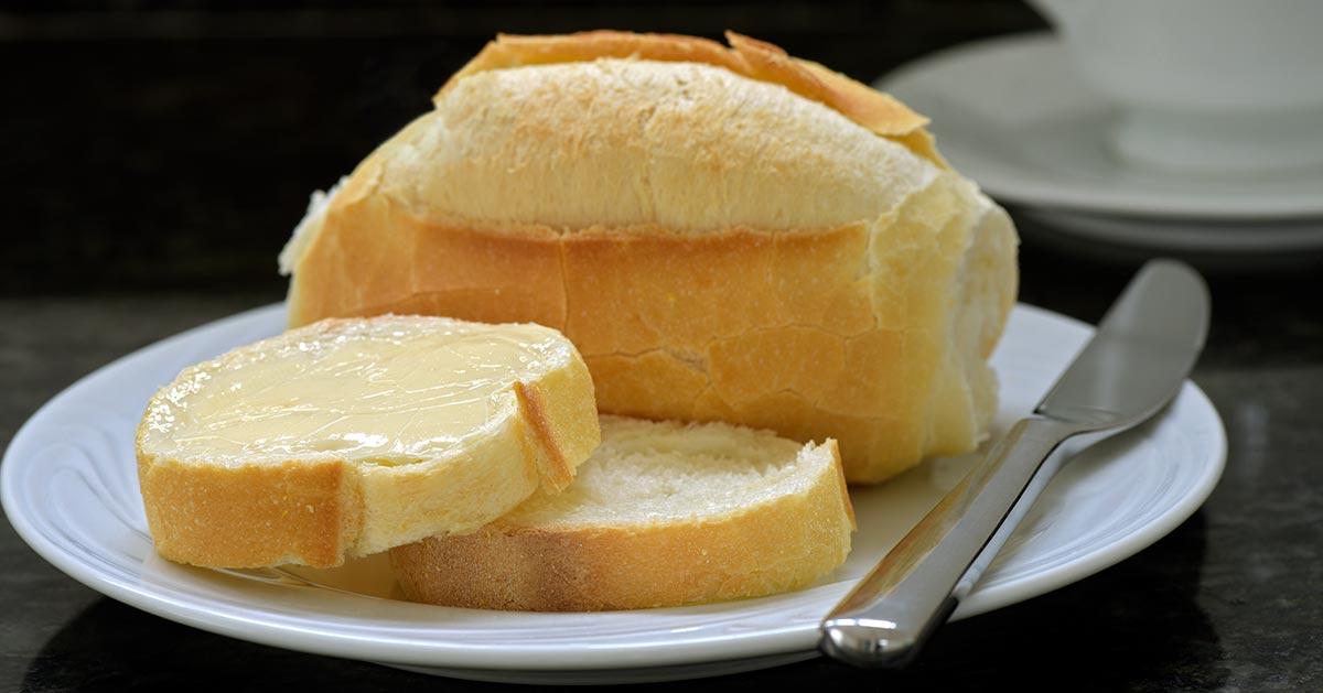 Domowy chleb bez drożdży i zakwasu
