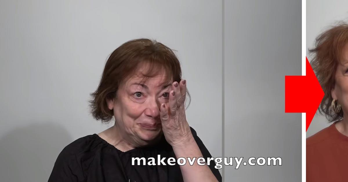 Po 44 latach małżeństwa rozwiodła się i postanowiła zacząć na nowo metamorfozą. Zobaczcie jak się zmieniła!