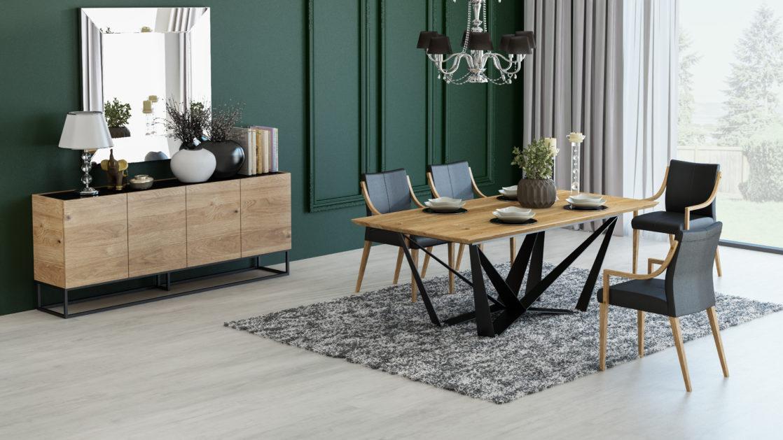 Wybieramy stoły loftowe do kuchni i salonu