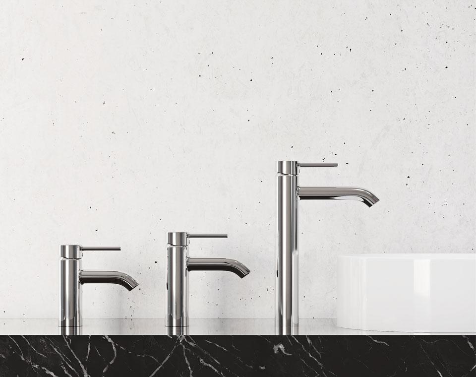 Armatura do łazienki w wyrafinowanym stylu
