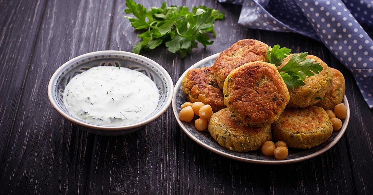 Pieczone falafele – zdrowa przekąska