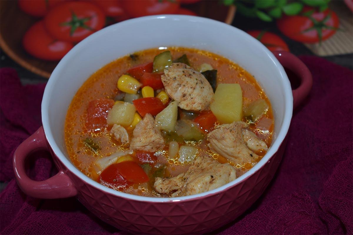 Gyros w zupie