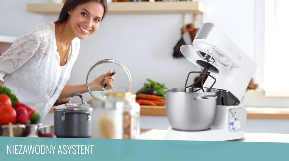Co potrafi wieloczynnościowy robot kuchenny?