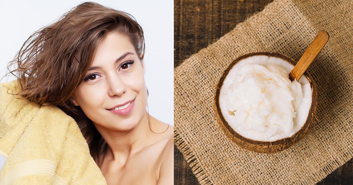 Olej kokosowy na włosy, dlaczego warto go używać?