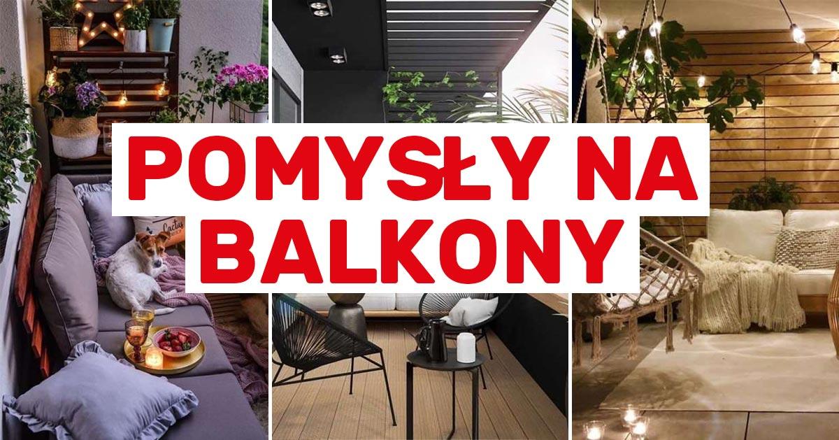 10 przepięknych pomysłów na balkon