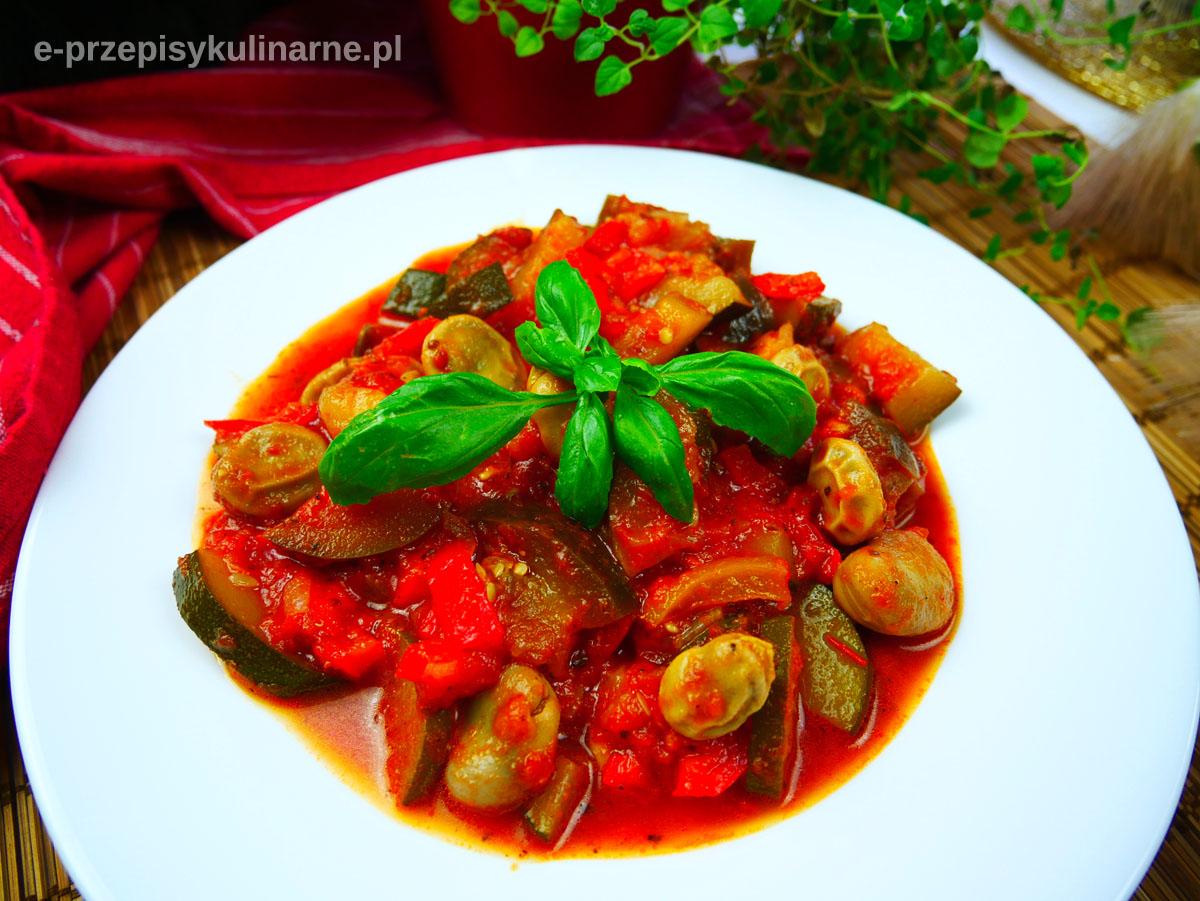 Ratatouille z bobem – przepis na lekki i zdrowy obiad